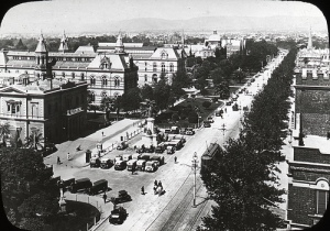 North Terrace, Adelaide, c1915