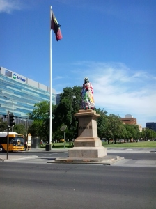 Queen Victoria Statue 11 Dec 2012
